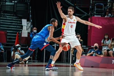 Μπάσκετ: Ο Ντουράντ και οι ΗΠΑ κέρδισαν με 95-81 τον τρομερό Ρούμπιο και έστειλαν την Ισπανία σπίτι