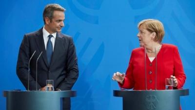Μητσοτάκης για Merkel: «Ζήτησε πάρα πολλά από τους Έλληνες αλλά κράτησε και τη χώρα στην ΕΕ»