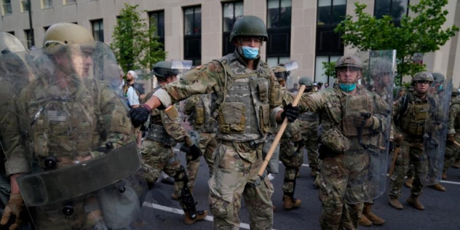 ΗΠΑ: 10.000 μέλη της Εθνοφρουράς στους δρόμους της Ουάσινγκτον υπό τον φόβο νέου χάους