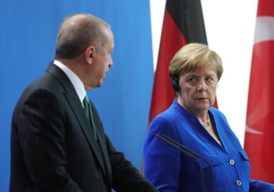 Erdogan σε Merkel: Η Τουρκία εξακολουθεί να τηρεί εποικοδομητική στάση σε Αιγαίο - Ανατολική Μεσόγειο