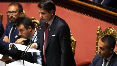 Ιταλία: Δημοσιονομικό έλλειμμα 7% για το 2021 προβλέπει ο προϋπολογισμός – Αναμένεται ανοδική αναθεώρηση