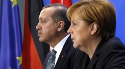 Merkel και Erdogan συζήτησαν για τις ευρωτουρκικές και διμερείς σχέσεις Γερμανίας και Τουρκίας