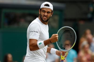 Wimbledon: Μπερετίνι για… φίλημα – Στον τελικό ο Ιταλός (video)